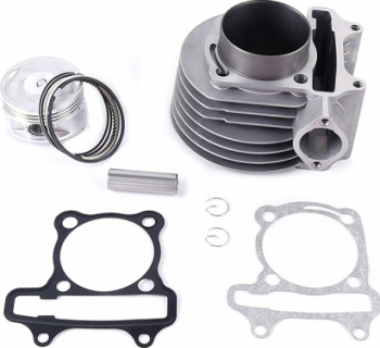 Kit Cilindru Scuter GY6 150cc 4 Timpi 57.5mm