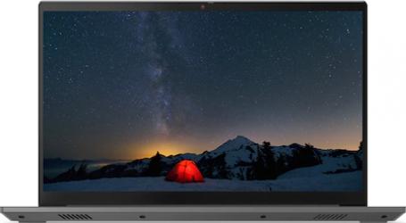 Laptop Lenovo ThinkBook 15 G2 ITL Intel Core (11th Gen) i7-1165G7 512GB SSD 16GB Intel Iris Xe FullHD Tastatura iluminata FPR Mineral Grey