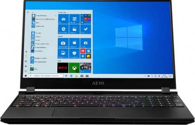 Laptop Gaming Gigabyte AERO 15 OLED XD Intel Core (11th Gen) i7-11800H 1TB SSD 32GB RTX 3070 8GB 4K Win10 Pro T. ilum. Black