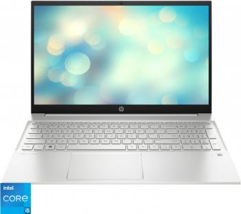 Laptop HP Pavilion 15-eg0081nq Intel Core (11th Gen) i5-1135G7 512GB SSD 8GB Intel Iris Xe FullHD Tast. Ilum. Natural Silver