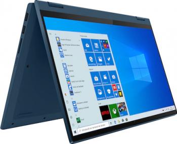 Laptop 2in1 Lenovo IdeaPad Flex 5 14ARE05 AMD Ryzen 5 4500U 512GB SSD 16GB AMD Radeon FullHD Touch Win10 T. il. FPR Light Teal