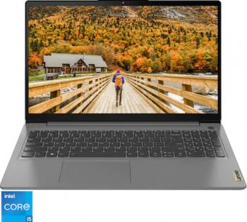 Laptop Lenovo IdeaPad 3 15ITL6 Intel Core (11th Gen) i5-1135G7 256GB SSD 8GB Intel Iris Xe FullHD Tast. ilum. Arctic Grey