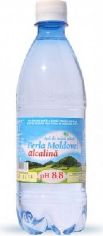 Apa de masa Perla Moldovei natural alcalina pH 8.8 0 5 l
