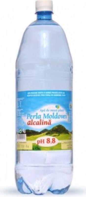 Apa de masa Perla Moldovei natural alcalina pH 8.8 2 l