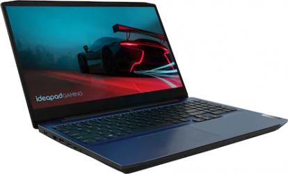 Laptop Gaming Lenovo IdeaPad 3 15ARH05 AMD Ryzen 5 4600H 512GB SSD 8GB GTX 1650 Ti 4GB FullHD Tastatura iluminata Blue