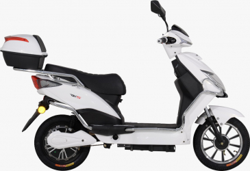 Scuter electric RDB Eco Rider MX Plus 1000 W Fara permis Alb