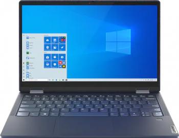 Laptop 2in1 Lenovo Yoga 6 13ARE05 AMD Ryzen 5 4500U 1TB SSD 16GB AMD Radeon FullHD Win10 FPR Tastatura iluminata Abyss Blue