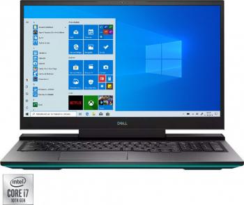 Laptop Gaming Dell Inspiron G7 17 7700 Intel Core i7-10750H 512GB SSD 16GB RTX 2070 8GB FullHD 144Hz Win10 Pro T.Ilum. FPR Mineral Black