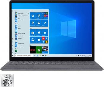 Laptop ultraportabil Microsoft Surface Laptop 3 cu procesor Intel Core i5-1035G7 13.5