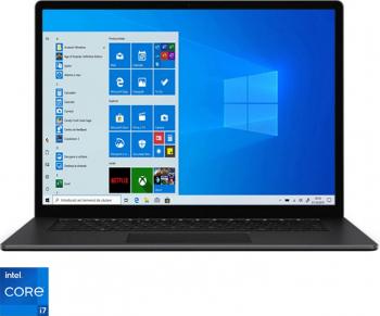 Laptop ultraportabil Microsoft Surface Laptop 4 cu procesor Intel® Core™ i7-1185G7 13.5