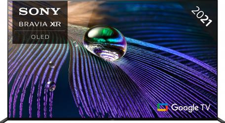Televizor Sony 55A90J 138.8 cm Smart Google TV 4K Ultra HD OLED Clasa G