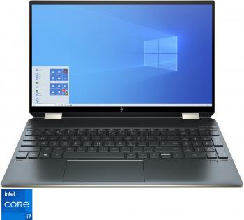 Laptop 2 in 1 HP Spectre x360 15-eb1003nn cu procesor Intel® Core™ i7-1165G7 pana la 4.70 GHz 15.6