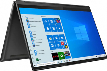 Laptop 2in1 Lenovo Yoga 9 14 14ITL5 Intel Core (11th Gen) i7-1185G7 1TB SSD 16GB Intel Iris XE 4K Touch Win10 Pro FPR T.Ilum. Shadow Black