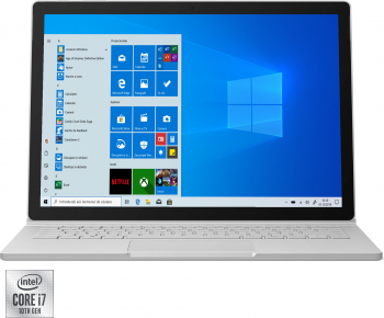 Laptop ultraportabil Microsoft Surface Book 3 cu procesor Intel Core i7-1065G7 pana la 3.90 GHz 13.5