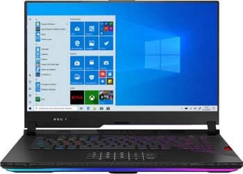 Laptop Gaming ASUS ROG Strix SCAR 15 G533QS AMD Ryzen 9 5900HX 1TB+1TB SSD 32GB RTX 3080 16GB FullHD Win10 RGB Black