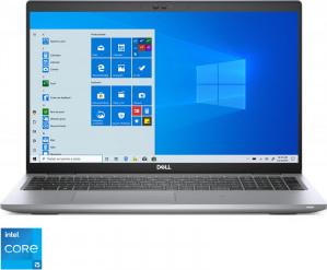 Laptop Dell Latitude 5520 Intel Core (11th Gen) i5-1145G7 256GB SSD 8GB Iris Xe FullHD Win10 Pro Tast. ilum. FPR