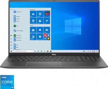 Laptop Dell Vostro 5502 Intel Core (11th Gen) i5-1135G7 256GB SSD 8GB Iris Xe FullHD Win10 Pro Tast. ilum. Gray