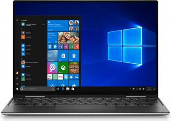 Ultrabook Dell XPS 13 9310 Intel Core (11th Gen) i7-1185G7 1TB SSD 16GB Intel Iris Xe UltraHD+ Touch Win10 Pro FPR T. il. Platinum Silver