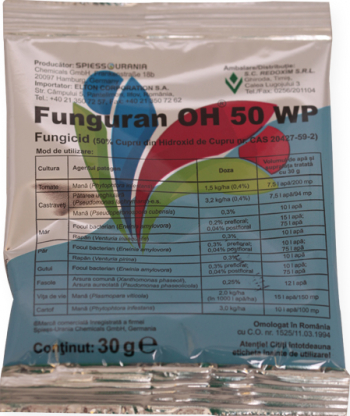 Fungicid Funguran OH50WP 30gr