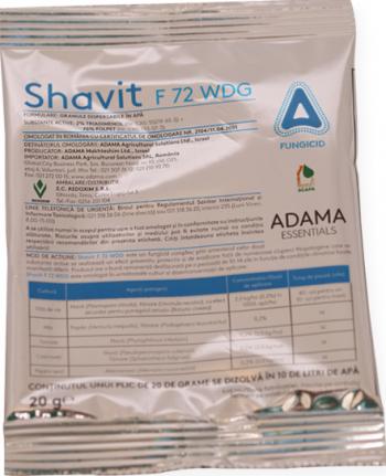 Fungicid Shavit F 72 WDG 20G