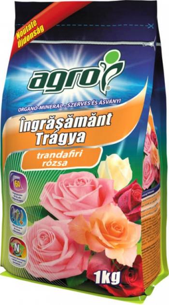 Ingrasamant Agro Creste fertilitatea solului Ambalaj sigilabil prin fermoar Pentru toate felurile de trandafiri