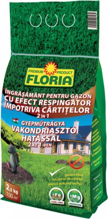 Ingrasamant Floria Substantele aromate zeolit resping cartitele de pe suprafata gazonului Reduce aparitia muschilo Aereaza solul