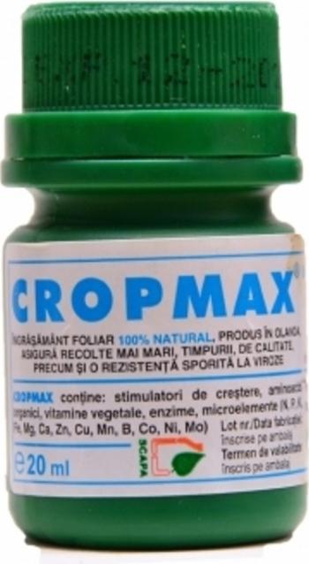 Ingrasamant foliar Cropmax 20 ml