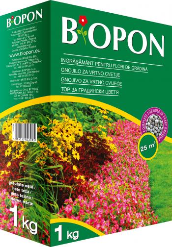 Ingrasamant granulat pentru flori de gradina 1 kg