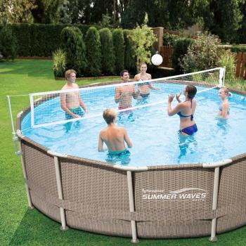 Kit Volei Summer Waves pentru piscine cu cadru metalic
