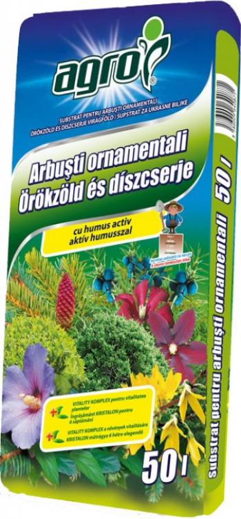 Pamant de flori pentru arbusti decorativi 50L