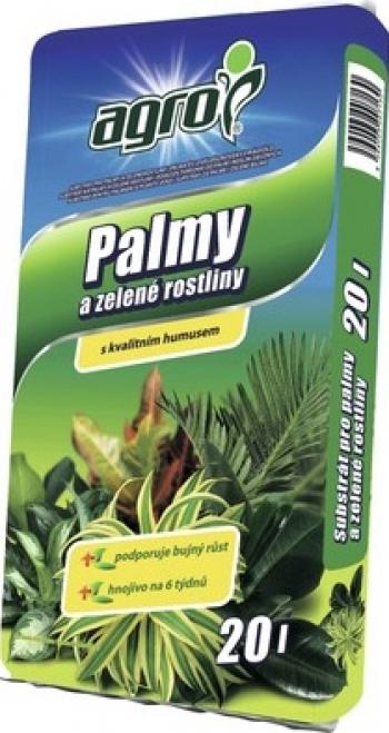 Pamant de palmieri si flori verzi Agro 20L