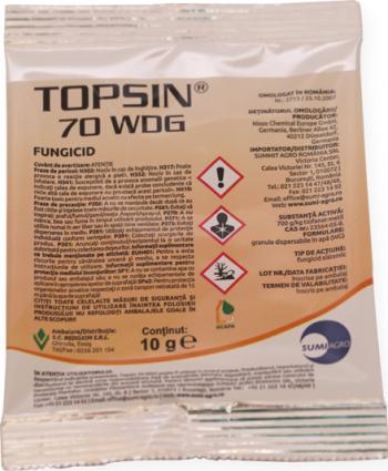 Topsin 70 WDG Fungicid 10g