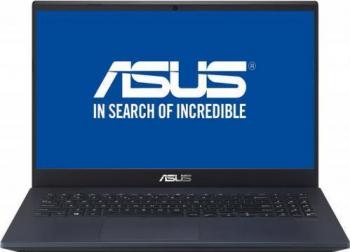 Laptop ASUS X571GT Intel Core (9th Gen) i5-9300H 512GB SSD 8GB GTX 1650 4GB FullHD FPR Tast. ilum. Star Black