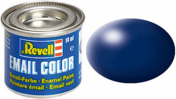 Email Color Dark Blue Silk 14ml RAL 5013 Revell