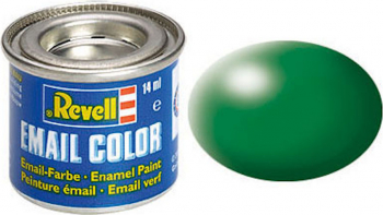 Email Color Leaf Green Silk 14ml RAL 6001 Revell
