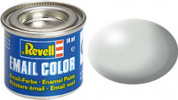 Email Color Light Grey Silk 14ml RAL 7025 Revell