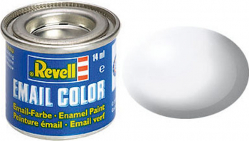 Email Color White Silk 14ml RAL 9010 Revell