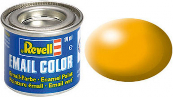 Email Color Yellow Silk 14ml RAL 1028 Revell
