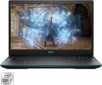 Laptop Gaming Dell Inspiron 3500 G3 Intel Core (10th Gen) i7-10750H 1TB SSD 16GB GTX 1660 Ti 6GB FullHD 144Hz Linux FPR Tast. ilum. G-Key
