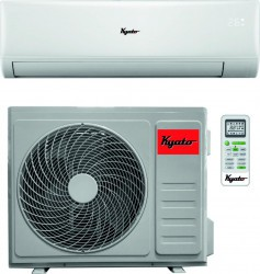 Aparat de aer conditionat Kyato 12HC32 12.000 BTU Clasa A++ iFeel Inverter R32 Alb