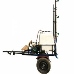 Atomizor pulverizator aparat de stropit trctabil tip remorca BSR DVS 300 pentru motocultoare ATV tractooare Atomizoare si pompe de stropit
