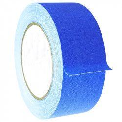 Banda textila neon fluorescenta adeziva rola 25 m 2.5 cm latime albastru Articole si accesorii birou