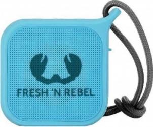 Boxa portabila FRESH 'N REBEL Rockbox Pebble Bluetooth Waterproof Sky