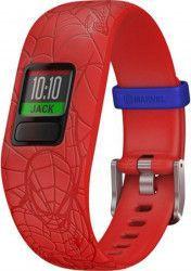 Bratara fitness Garmin Vivofit Jr. 2 Bratara reglabila Spider-man Red