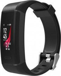 Bratara fitness MaxCom FitGo FW13 Nitro Bluetooth GPS Black Bratari Fitness