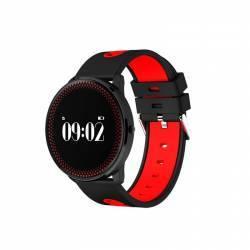 Bratara Smart Bluetooth monitorizare cardiaca calorii pedometru notificari rosu SoVogue Bratari Fitness