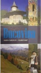 Bucovina - Harta turistica Harti