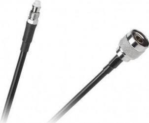 Cablu H155 FME mama - N tata 15 m Negru