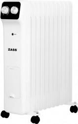Calorifer electric cu ulei Zass ZR 11 N 2500 W 11 elementi Termostat reglabil Protectie la supraincalzire Alb