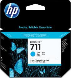 Cartus HP 711 29ml 3Pack Cyan Cartuse Originale